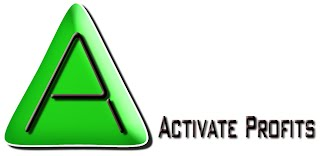 Activate Profits Logo Design - Lou Van Loon