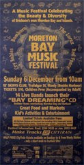 Moreton Bay Music Festival Poster with Logo - Lou Van Loon