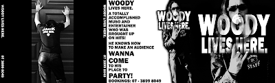 Woody Lives Here CD Cover - Lou Van Loon