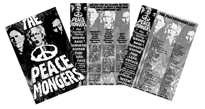 Peacemongers Bio Original - Lou Van Loon