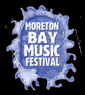 Moreton Bay Music Festival Logo - Lou Van Loon