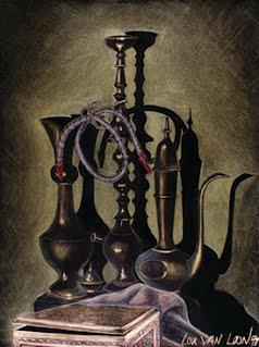 Brass Vases - Lou Van Loon