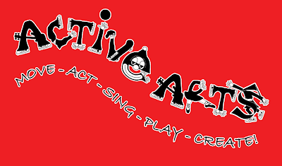 Active Arts Logo - Lou Van Loon
