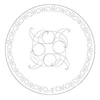 Motif Plate - Lou Van Loon